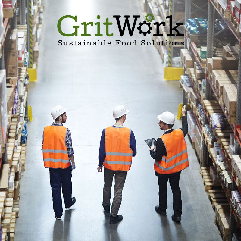 Gritwork Workers in Warehouse
