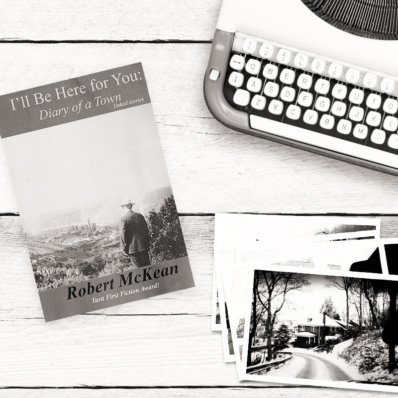 Rob Mckean Book on Desk