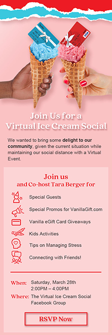 Ice Cream Social Email